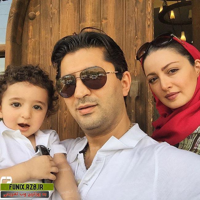 عکس های جدید بازیگران ایرانی با همسران و فرزندانشان
