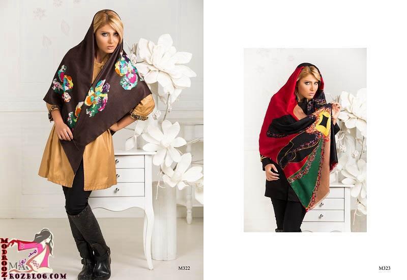 شال وروسری دخترانه بهار2015-94
