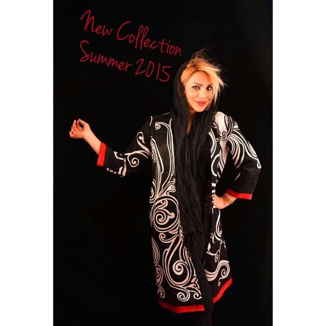 مدل مانتو نخی تابستانی دخترانه
