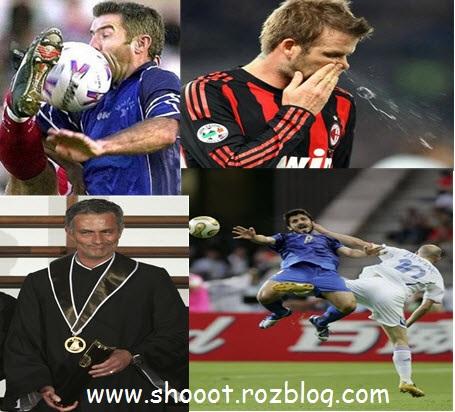 عکس های جالب و خنده دار در فوتبال