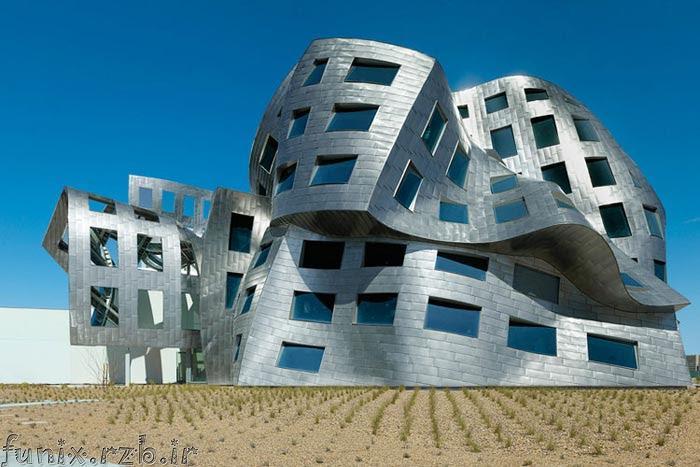 معماری بینظیر مركز مغز و اعصاب لاس وگاس