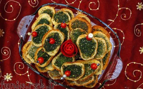 طرز تهیه کوکو سبزی مجلسی با نان باگت