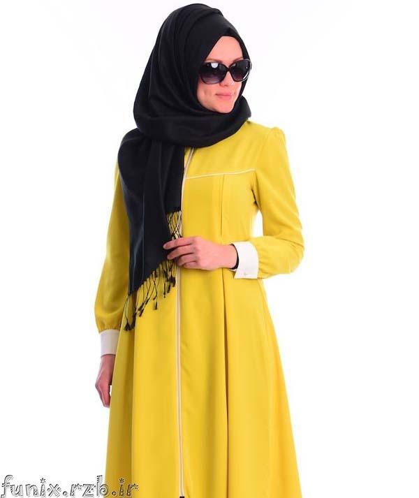 مدلهای متنوع مانتو و پوشش های باحجاب