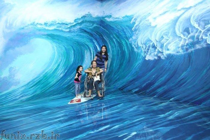 تصاویری از موزه هنرهای 3بعدی در فیلیپین