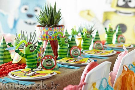 تم جذاب و جالب هندوانه برای جشن های کودکانه و جشن تولدها