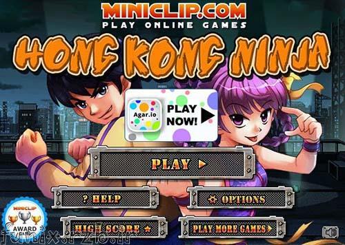 بازی آنلاین نینجاهای هنگ کنگی