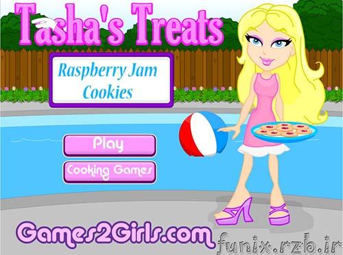 بازی آنلاین دختر شیرینی پز