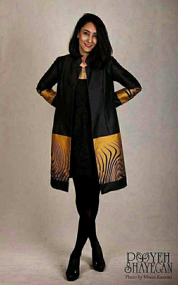 مانتو جدید دخترانه سال 2015