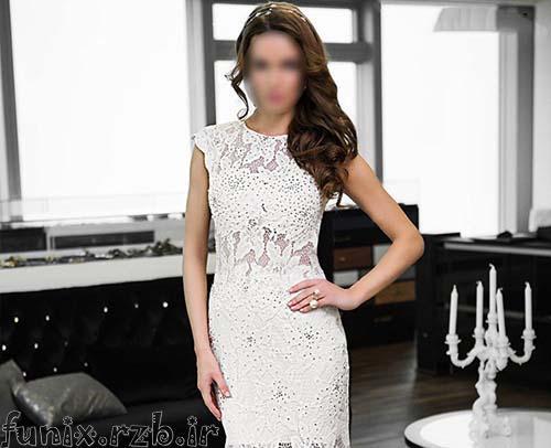 مدل لباس عروس شیک و زیبای برند jovani