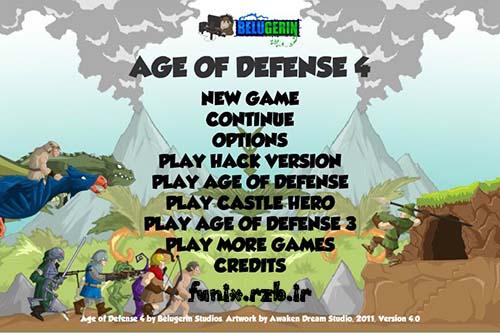 بازی آنلاین استراتژیک عصر دفاع ۴