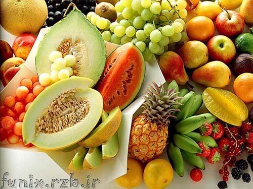 خواص جالب خوراکی ها به صورت تصویری