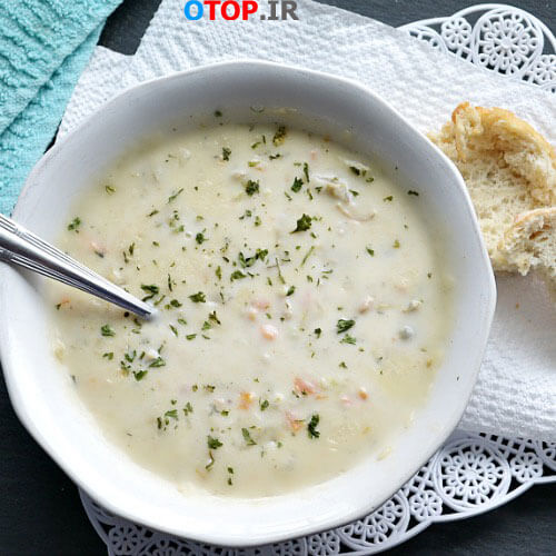 طرز تهیه سوپ گشنیز خوشمزه
