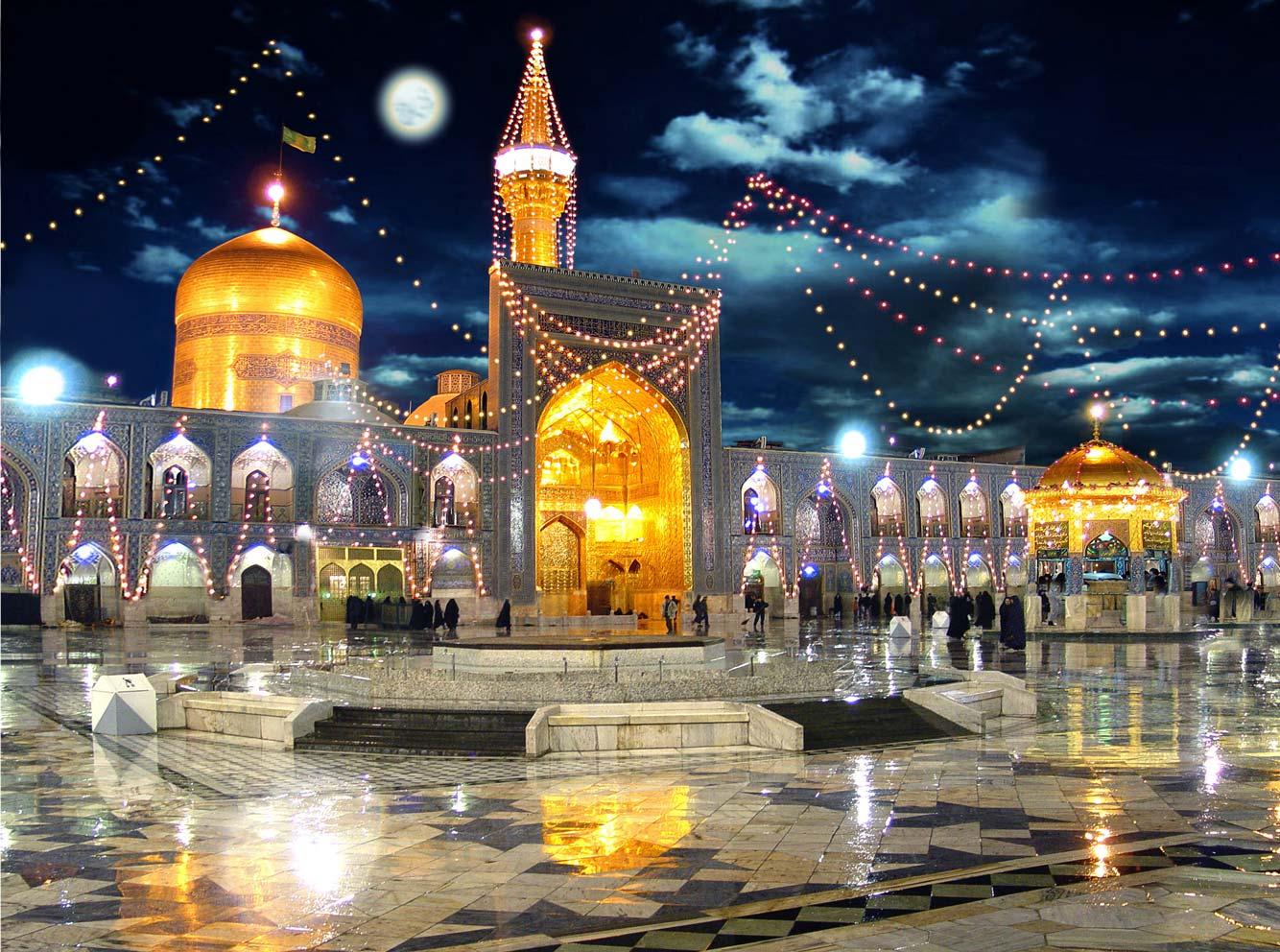 مجموعه زیبای عکس های حرم امام رضا علیه السلام با کیفیت عالی قسمت دوم