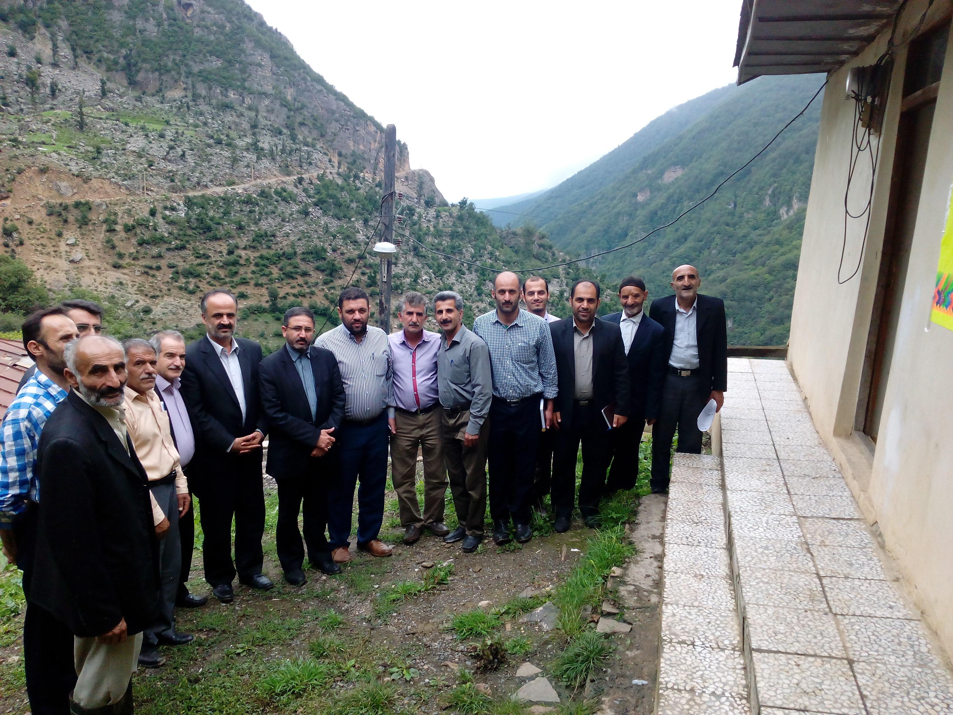 دیدار دوم حاج قاسم احمدی با مردم و شورای اسلامی گلامره در شهریور 94