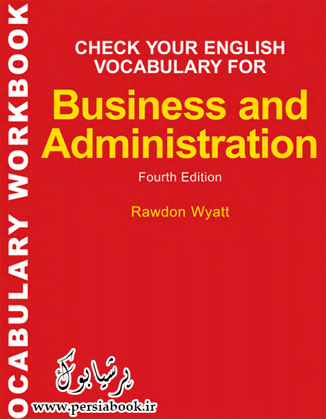 دانلود رایگان کتاب تمرین واژگان برای مدیریت و تجارت