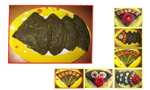 روش تهیه کوکو سبزی با تن ماهی