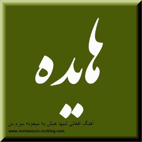دانلود آهنگ افغانی شبها همش به میخونه میرم من به تقلید از آهنگ هایده