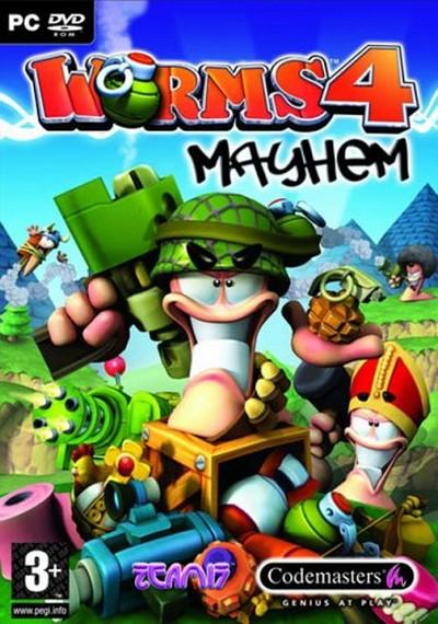دانلود بازی worms 4 mayhem برای کامپیوتر
