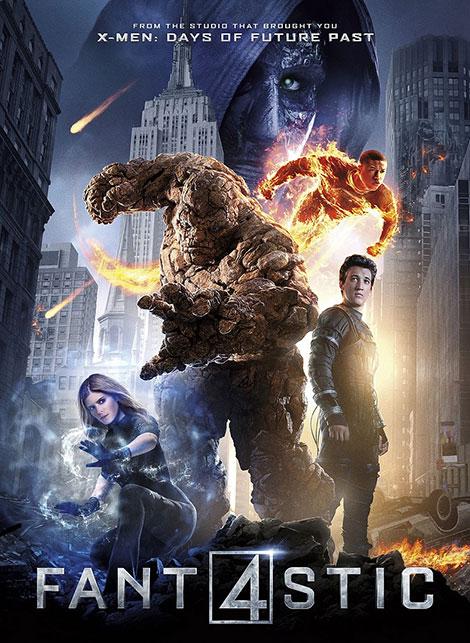 دانلود فیلم خارجی جدید چهار شگفت انگیز Fantastic Four 2015