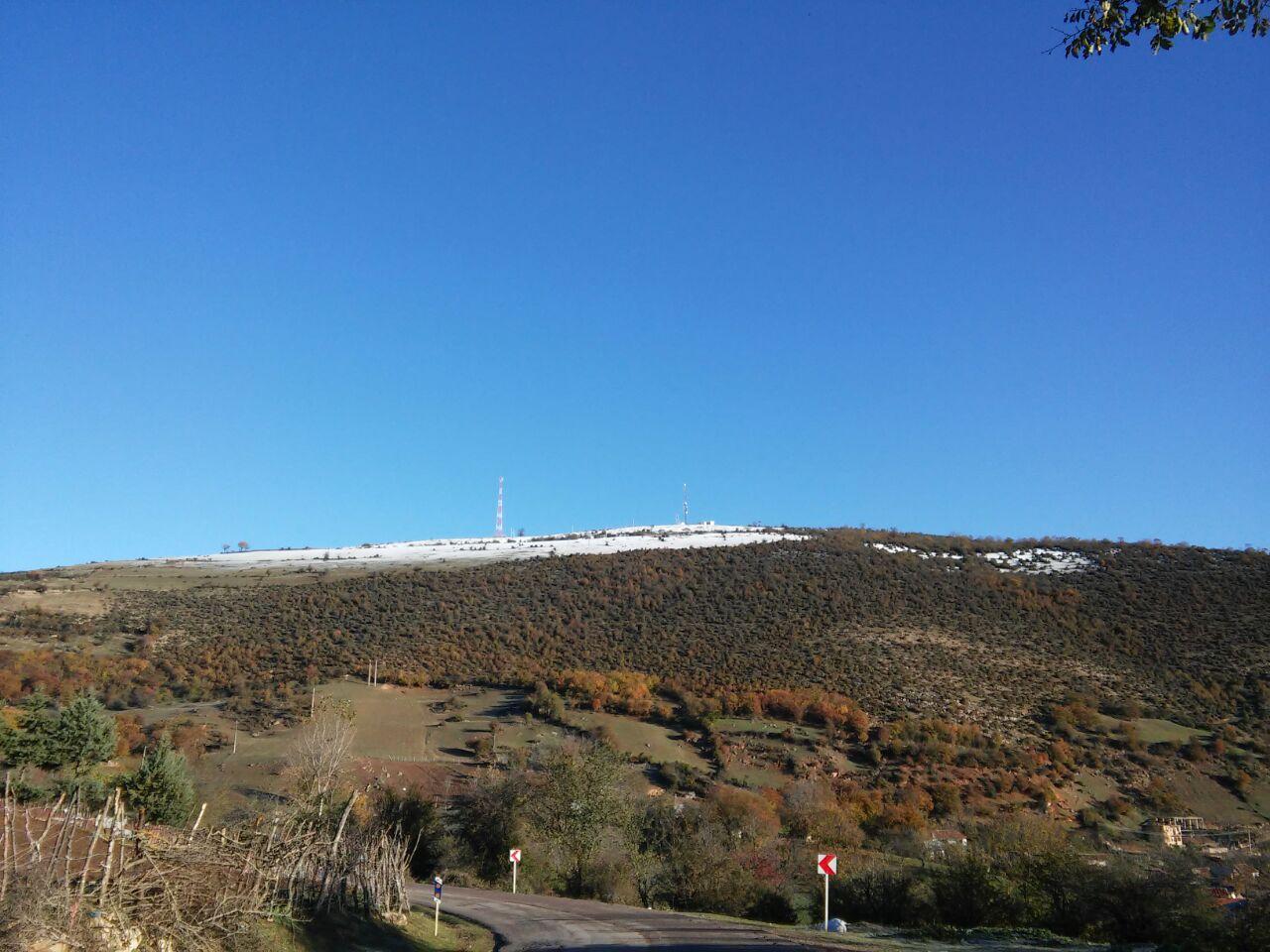 اولین برف پاییز 94